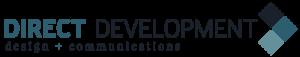 Direct Development: Design + Communications Logo